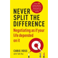book cover for  Never Split the Difference   Voss Chris, ISBN:  9781847941497