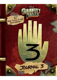 book cover for  Gravity Falls: Journal 3   , ISBN:  9781484746691