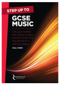book cover for  Step Up to GCSE Music   Terry Paul, ISBN:  9781785581755