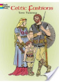 book cover for  Celtic Fashions   , ISBN:  9780486420752