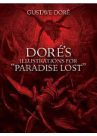 """book cover for  Dore's Illustrations for """"Paradise Lost""""   , ISBN:  9780486277196"""