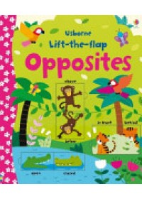 book cover for  Lift-the-Flap Opposites   Brooks Felicity, ISBN:  9781409582588