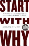 book cover for  Start with Why   Sinek Simon, ISBN:  9780241958223