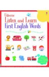 book cover for  Listen and Learn First English Words   Taplin Sam, ISBN:  9781409582489