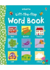 book cover for  Lift the Flap Word Book   Brooks Felicity, ISBN:  9780746099155