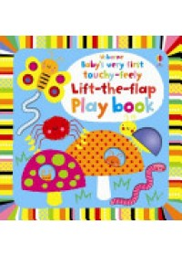 book cover for  Baby's Very First Touchy-feely Lift-the-flap Playbook   Watt Fiona, ISBN:  9781409556626